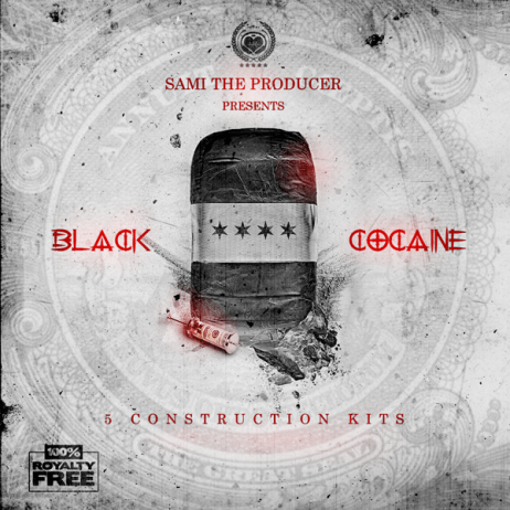 Black Cocaine Artwork by STP
