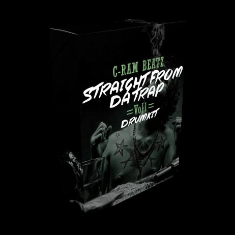 Cram straight trap drumkit 1